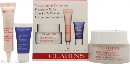 Clarins Early Wrinkle Correction Confezione Regalo 50ml Crema Giorno + 10ml Active Siero