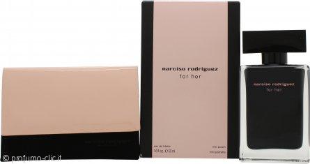 Narciso Rodriguez Narciso Rodriguez For Her Confezione Regalo 50ml EDT + Mini Borsetta