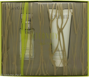 Calvin Klein Eternity Gift Set 30ml EDP + 100ml Gel Doccia
