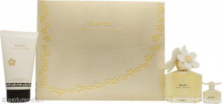 Marc Jacobs Daisy Confezione Regalo 100ml EDT + 150ml Lozione per il Corpo + 4ml EDT