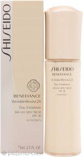 Shiseido Benefiance Wrinkle Resist 24 Emulsione per il Giorno SPF18 75ml