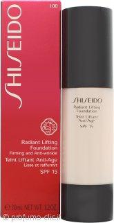 Shiseido Radiant Lifting Fondotinta 30ml SPF15 - I00 Very Light Ivory