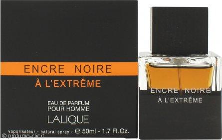 Lalique Encre Noire A L`Extreme Eau de Parfum 50ml spray
