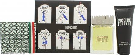 Moschino Moschino Forever Confezione Regalo 100ml EDT + 100ml Gel Doccia + Borsa da Bagno