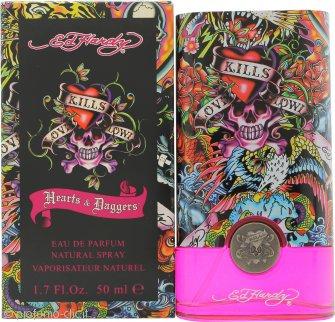 Ed Hardy Hearts & Daggers Eau de Parfum 50ml Spray