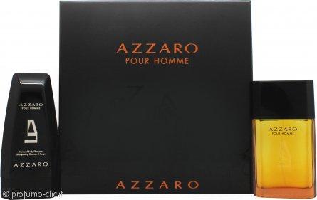 Azzaro Pour Homme Confezione Regalo 100ml EDT + 150ml Hair & Body Shampoo