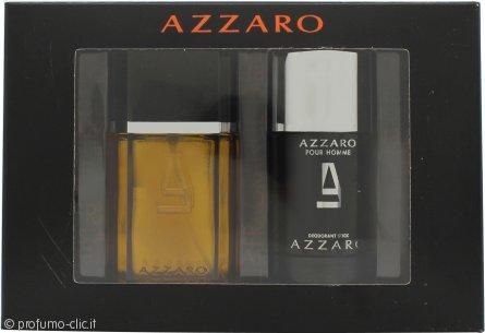 Azzaro Pour Homme Confezione Regalo 50ml EDT + 75ml Deodorante Stick