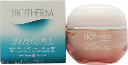 Biotherm Aquasource Creme Crema Viso 50ml Dry Skin