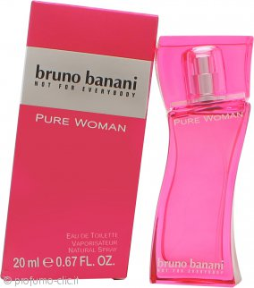 Bruno Banani Pure Woman Eau de Toilette 20ml Spray