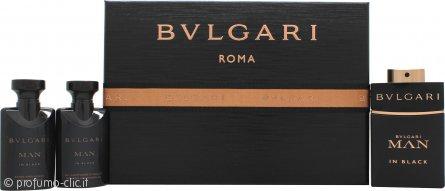 Bvlgari Man In Black Confezione Regalo 60ml EDP + 40ml Balsamo Dopobarba + 40ml Gel Doccia