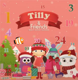 Tilly & Friends Beauty Calendario dell'Avvento