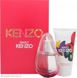 Madly Kenzo Confezione Regalo 30ml EDT + 50ml Latte per il Corpo