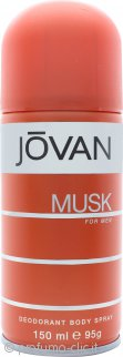 Jovan Jovan Musk For Men Deodorante Body Spray 150ml