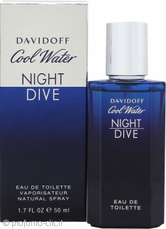 Davidoff Cool Water Night Dive Eau de Toilette 50ml Spray