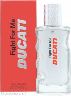 Ducati Fight for Me Eau de Toilette 100ml Spray