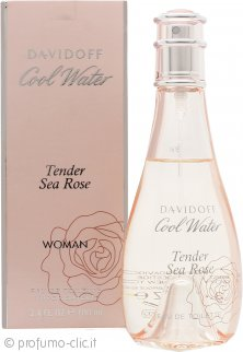 Davidoff Cool Water Tender Sea Rose Eau de Toilette 100ml Spray