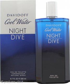Davidoff Cool Water Night Dive Eau de Toilette 200ml Spray