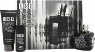 Diesel Only the Brave Tattoo Confezione Regalo 75ml EDT + 50ml Gel Doccia + 100ml Gel Doccia