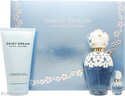 Marc Jacobs Daisy Dream Confezione Regalo 100ml EDT + 150ml Lozione Corpo + 4ml EDT