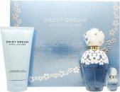 Marc Jacobs Daisy Dream Confezione Regalo 100ml EDT Spray + 150ml Lozione Corpo + 10ml Rollerball