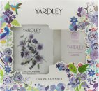 Yardley English Lavender Confezione Regalo 200g Talco Profumato + 100g Sapone Profumato