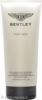 Bentley For Men Shampo & Gel Doccia 200ml