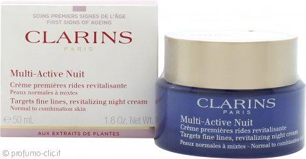 Clarins Multi-Active Nuit Revitalizing Crema Notte 50ml