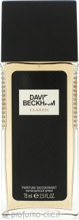 David Beckham Classic Deodorante Spray 75ml