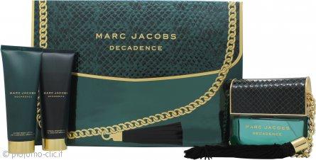 Marc Jacobs Decadence Confezione Regalo 100ml EDP + 75ml Lozione Corpo + 75ml Gel Doccia
