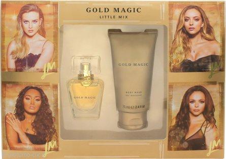 Little Mix Gold Magic Confezione Regalo 30ml EDP + 75ml Bagnoschiuma