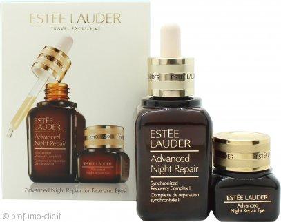 Estee Lauder Advanced Night Repair Face & Eyes Skincare Confezione Regalo 50ml Siero + 15ml Crema Gel Occhi