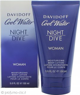 Davidoff Cool Water Women Night Dive Lozione Corpo 150ml