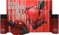 Diesel Loverdose Red Kiss Confezione Regalo 50ml EDP + 2 x 50ml Lozione Corpo