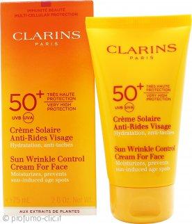 Clarins Sun Wrinkle Control Crema 75ml SPF50