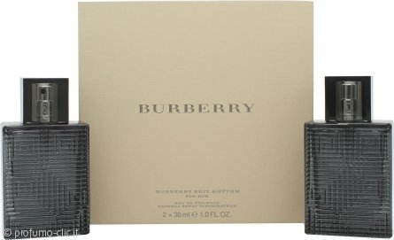 Burberry Brit Rhythm Confezione Regalo 2 x 30ml EDT