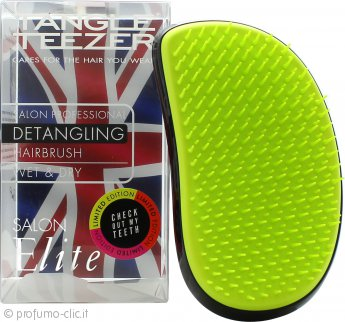 Tangle Teezer Salon Elite Detangling Spazzola per Capelli - Highlighters Lime