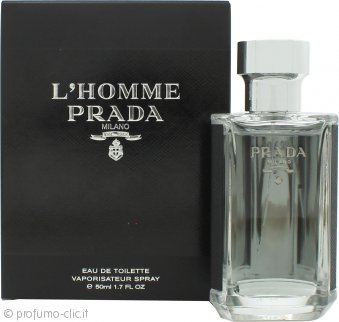Prada L'Homme Eau de Toilette 50ml Spray