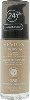 Revlon ColorStay Makeup 30ml - 180 Sand Beige Pelle Mista/Grassa