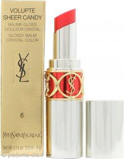 Yves Saint Laurent Volupté Sheer Candy Balsamo Lucido Labbra 3.5ml - 6 Luscious Cherry