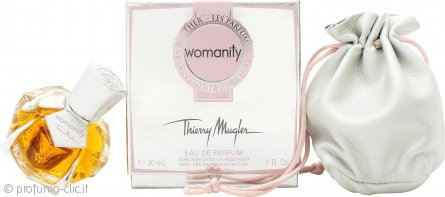 Thierry Mugler Womanity Les Parfums de Cuir - The Fragrance of Leather Eau de Parfum 30ml Spray
