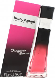 Bruno Banani Dangerous Woman Eau de Toilette 100ml Spray