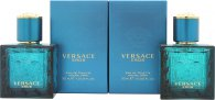 Versace Eros Confezione Regalo 2 x 30ml EDT Spray