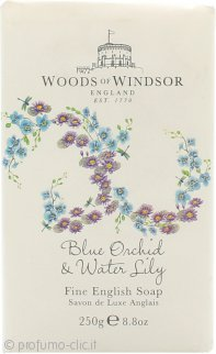 Woods of Windsor Blue Orchid & Water Lily Fine English Sapone 250g