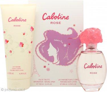 Gres Parfums Cabotine Rose Confezione Regalo 100ml EDT + 200ml Lozione Corpo