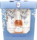 Taylor of London Lace Confezione Regalo 100ml EDT + 200ml Lozione Corpo + 200ml Bagnoschiuma