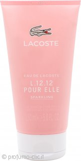 Lacoste L.12.12 Pour Elle Sparkling Gel Doccia 150ml