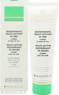 Collistar Multi-Active 24H Deodorante in Crema 75ml - Pelle Sensibile