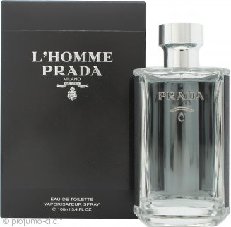 Prada L'Homme Eau de Toilette 100ml Spray