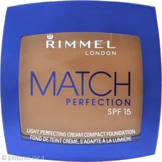 Rimmel Match Perfection Fondotinta Compatto 7g - 402 Bronze