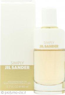 Jil Sander Simply Jil Sander Eau de Toilette Body Veil Idratante 80ml Spray